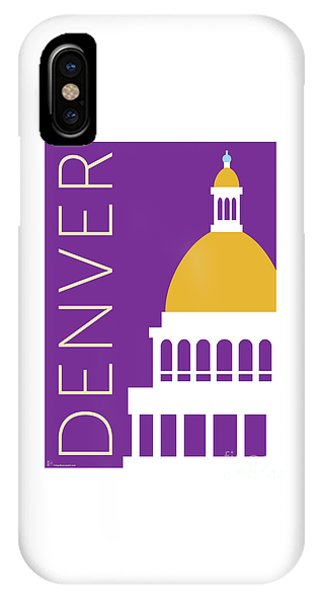 Denver Capitol/purple IPhone Case