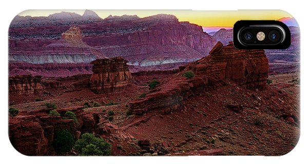 Capitol Reef Sunrise IPhone Case