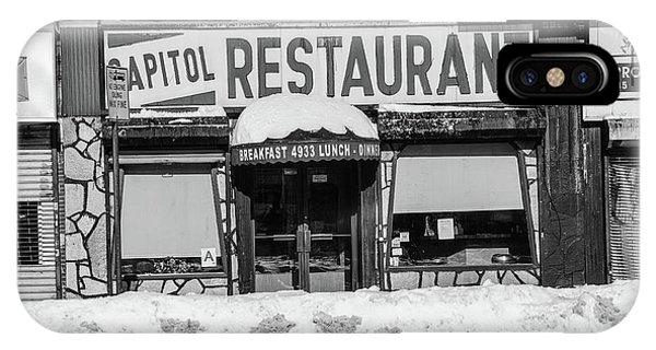 Capitol Restaurant IPhone Case