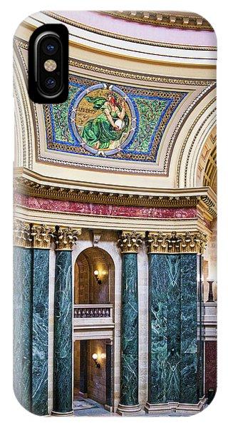 Capitol Rotunda -madison - Wisconsin IPhone Case