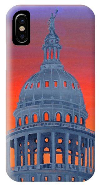 Capitol Warmth IPhone Case