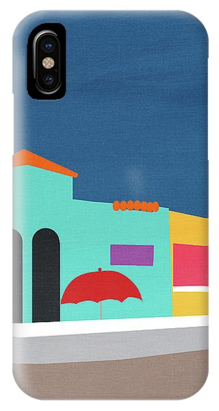 Pink iPhone Case - Capitola Venetian- Art By Linda Woods by Linda Woods