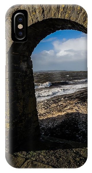 Cappagh Pier And Ireland's Shannon Estuary IPhone Case