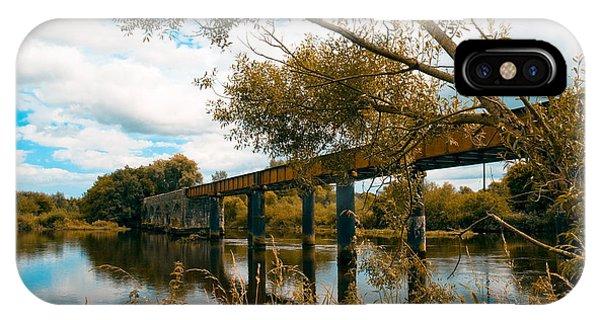 Cappaquin Railway Bridge IPhone Case