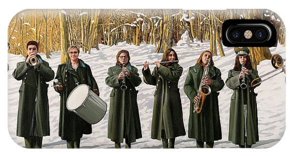 Drum iPhone Case - Cappotto Per Otto by Guido Borelli