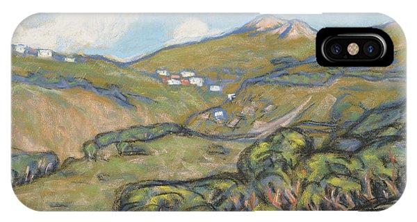 Ant iPhone Case - Capri Landscape by Ants Laikmaa