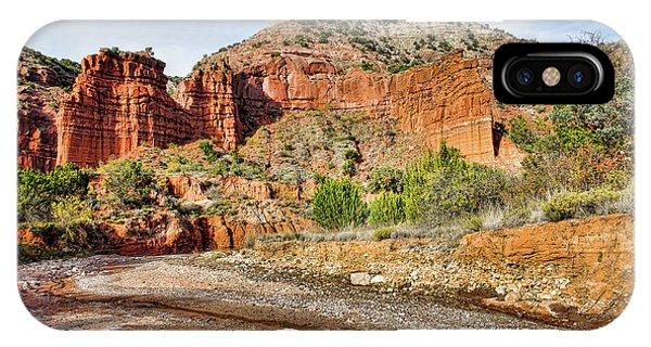 Caprock Canyon IPhone Case
