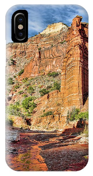 Caprock Canyon Cliff IPhone Case