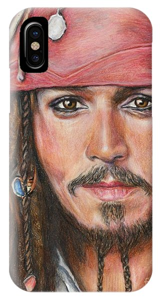 Captain Jack IPhone Case