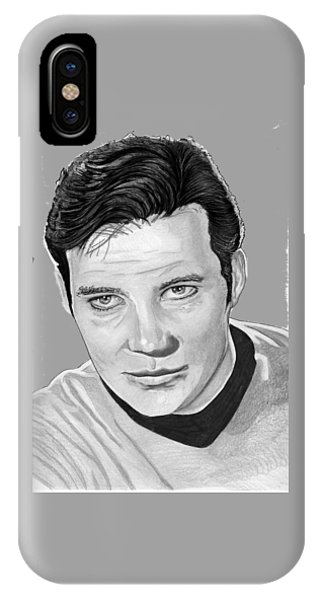 Captain Kirk IPhone Case
