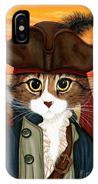 Captain Leo - Pirate Cat And Rat IPhone Case