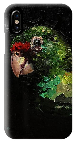 Captain The Parrot IPhone Case