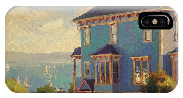 Port Townsend iPhone Case - Captain's House by Steve Henderson