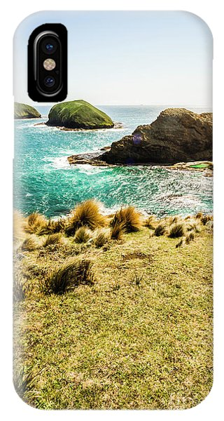 Captivating Coastal Cliff IPhone Case