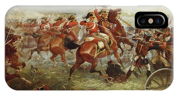 British Empire iPhone Case - Capture Of The Eagle, Waterloo, 1898  by William Holmes Sullivan