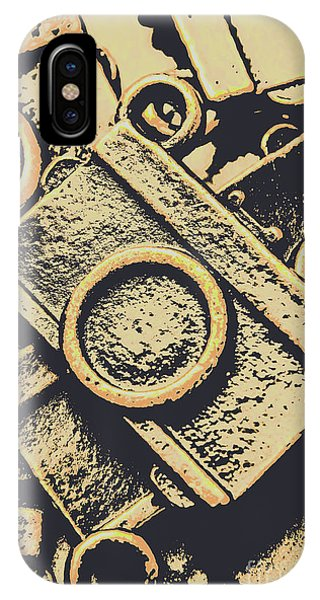 Vintage Camera iPhone Case - Capturing Memories And Nostalgia by Jorgo Photography - Wall Art Gallery