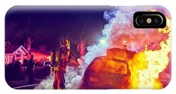 Car Arson  IPhone Case