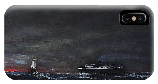 Car Ferry Badger November Crossing IPhone Case