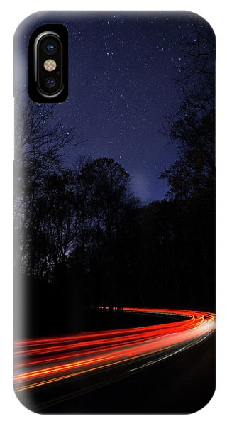 Car Trails IPhone Case