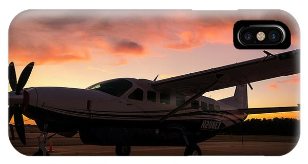 Caravan On The Ramp In The Sunset IPhone Case