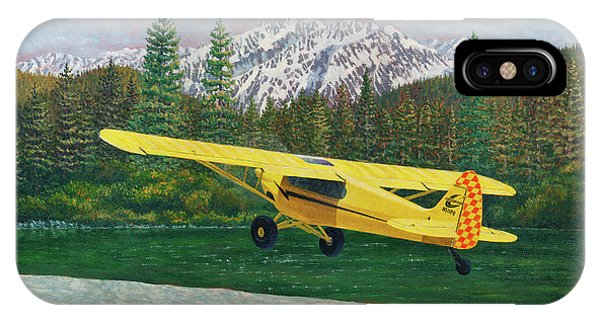 Carbon Cub Riverbank Takeoff IPhone Case