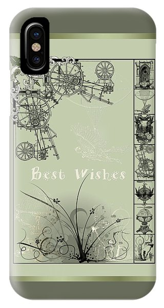 Card Best Wishes IPhone Case