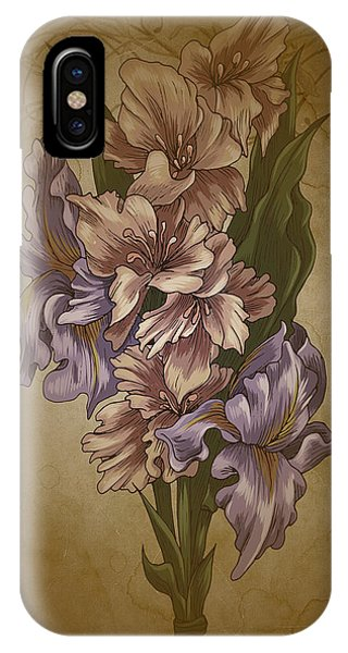 Card Floral Anyttime IPhone Case