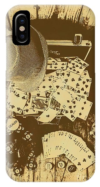 Stylish iPhone Case - Card Games And Vintage Bets by Jorgo Photography - Wall Art Gallery