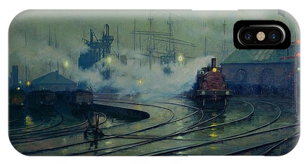 Cardiff Docks IPhone Case