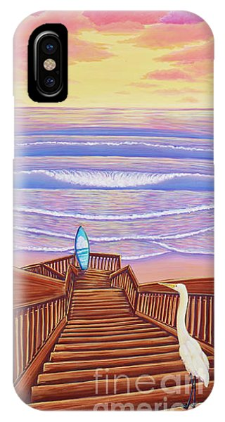 Cardiff Sunset IPhone Case