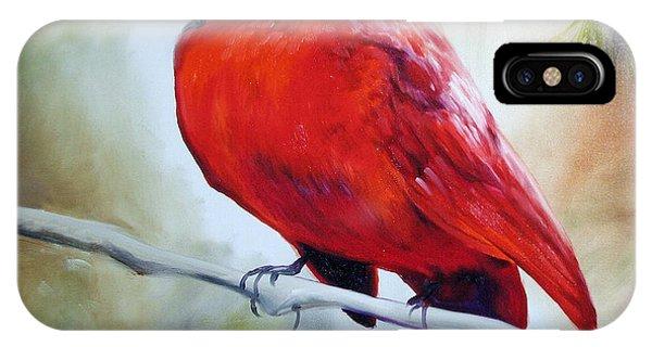 Cardinal 18 IPhone Case