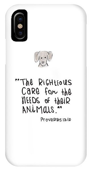 Care For Animals IPhone Case