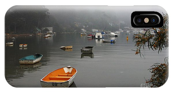 Fog iPhone Case - Careel Bay Mist by Sheila Smart Fine Art Photography