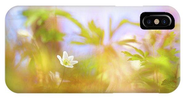 Carefree Spring IPhone Case