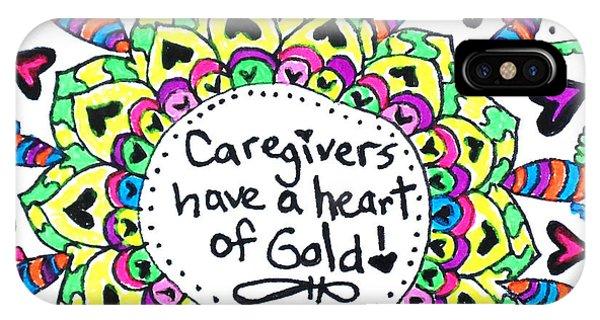 Caregiver Flower IPhone Case