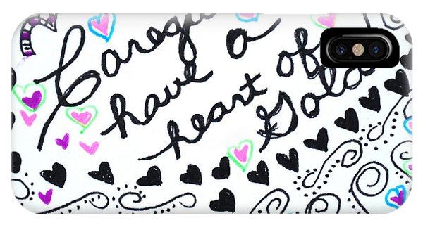 Assisted Living iPhone Case - Caregiver Hearts by Carole Brecht