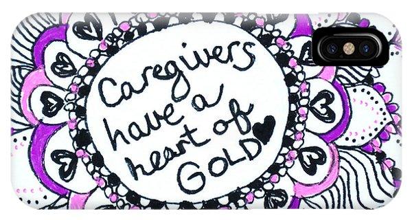 Caregiver Sun IPhone Case