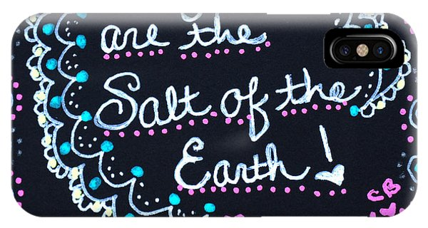 Caregivers Are The Salt Of The Earth IPhone Case