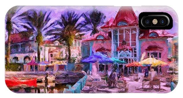 Caribbean Beach Resort IPhone Case