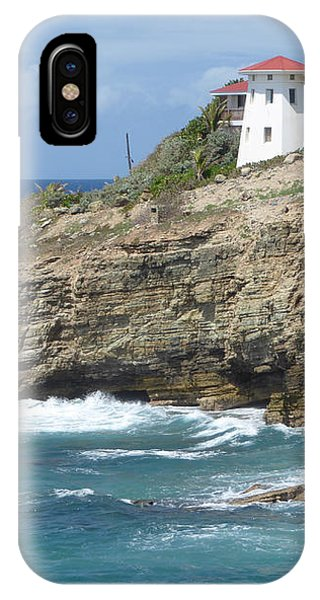 Caribbean Coastal Villa IPhone Case