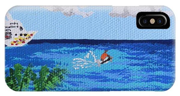 Caribbean Jet Ski IPhone Case