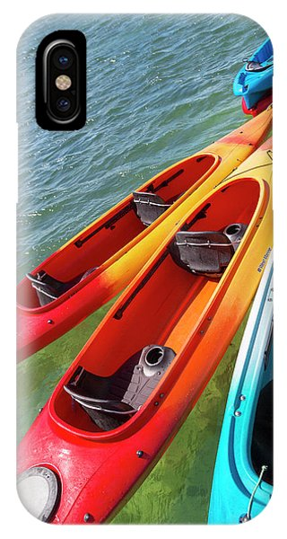 Carribbean iPhone Case - Caribbean Kayaks by Betsy Knapp