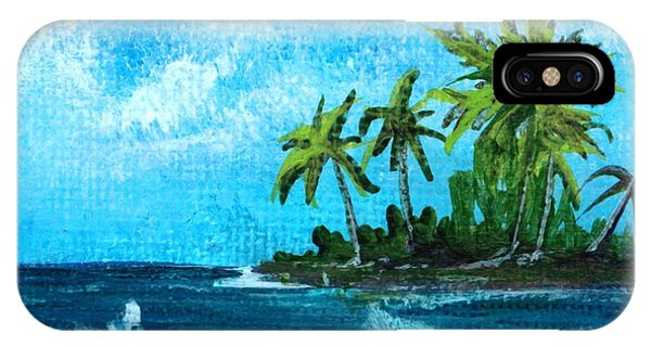 Caribbean Vacation #2 IPhone Case
