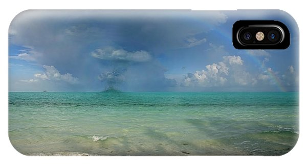Carribbean iPhone Case - Caribbean Waterspout  by Betsy Knapp