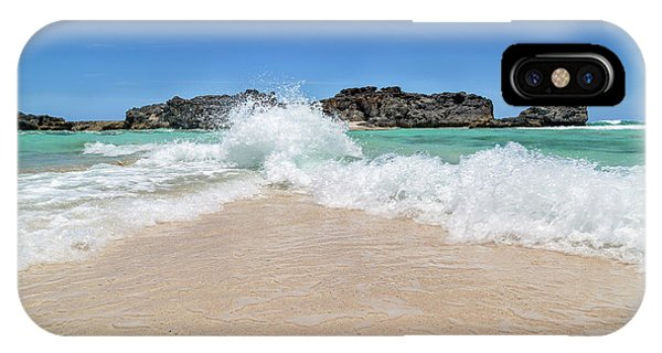 Carribbean iPhone Case - Colliding Worlds by Betsy Knapp