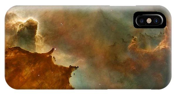 Carina Nebula Details -  Great Clouds IPhone Case