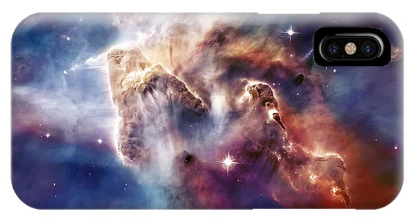 Carina Nebula Pillar IPhone Case