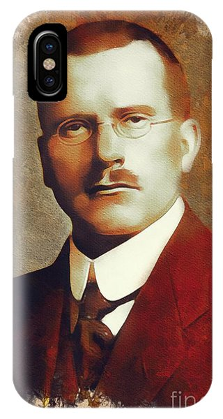 Prime Minister iPhone Case - Carl Jung, Psychoanalyst by Mary Bassett