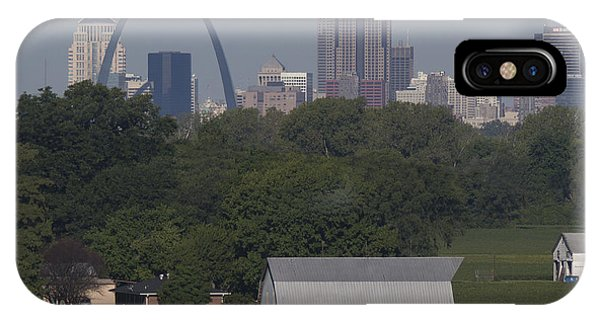 Gateway Arch iPhone Case - Carl's Barn by Garry McMichael