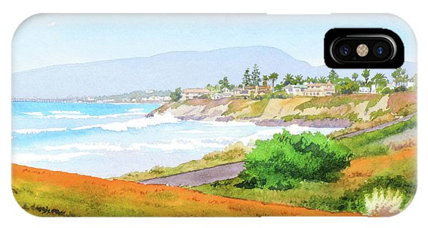 Carlsbad Rt. 101 Sunny Day IPhone Case